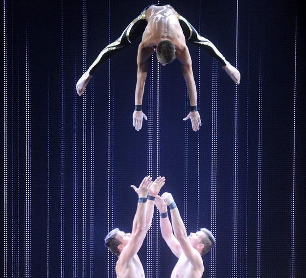 "Alter Trio w półfinale ""Mam talent"" (fot. Mateusz Jagielski) /East News"