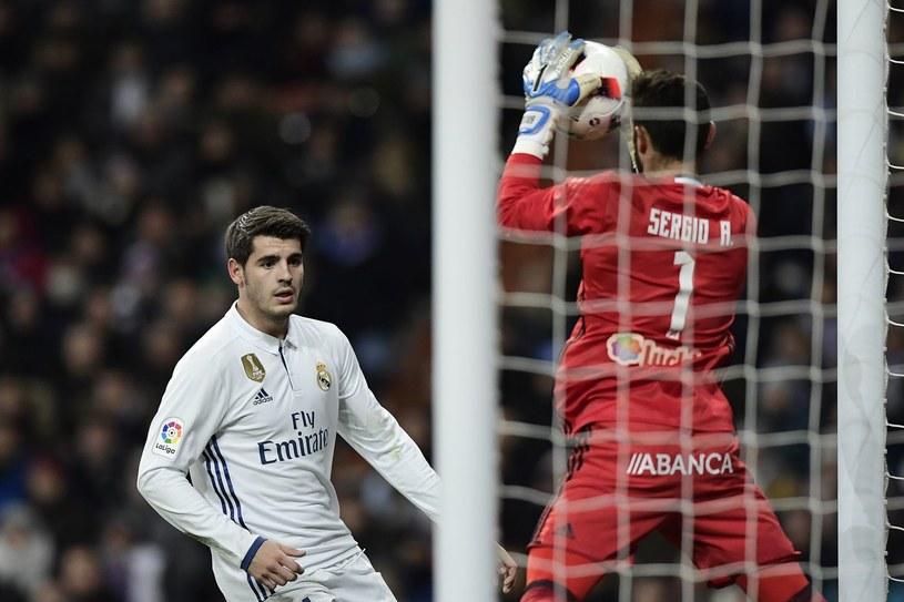 Alvaro Morata jest zdecydowany. Nie chce grać w Realu Zidane'a /AFP
