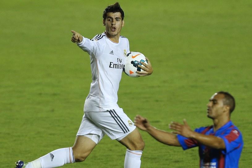 Alvaro Morata strzelił bardzo ważnego gola dla Realu w meczu z Levante /AFP
