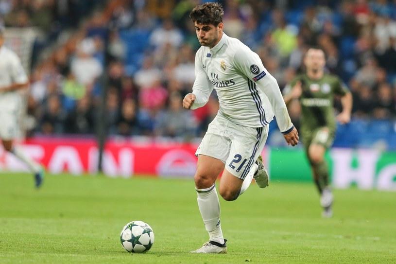 Alvaro Morata w jednym z meczów Realu Madryt /Tomasz Jastrzębowski /East News
