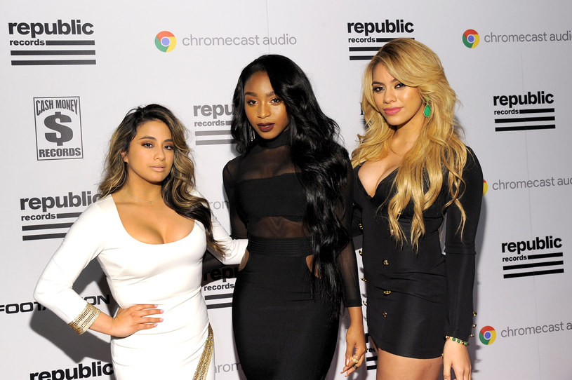 Aly Brooke, Normani Kordei oraz Dinah Jane Hansen z Fifth Harmony /Angela Weiss;  /Getty Images
