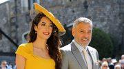Amal Clooney i portfelowa sukienka