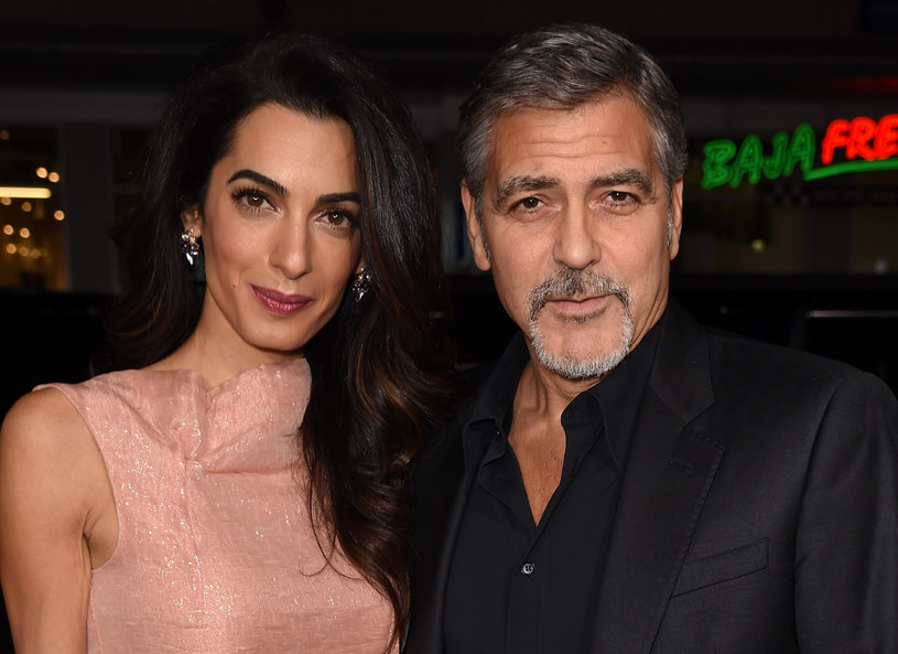 Amal i George Clooney'owie /Getty Images