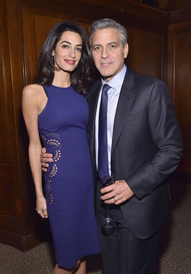 Amal i George Clooneyowie /Mike Coppola /Getty Images