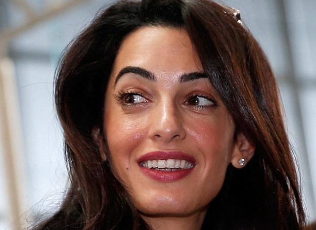 Amal trzyma męża twardą ręką /Getty Images