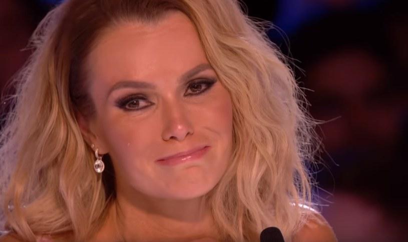 Amanda Holden nie mogła ukryć łez wzruszenia /
