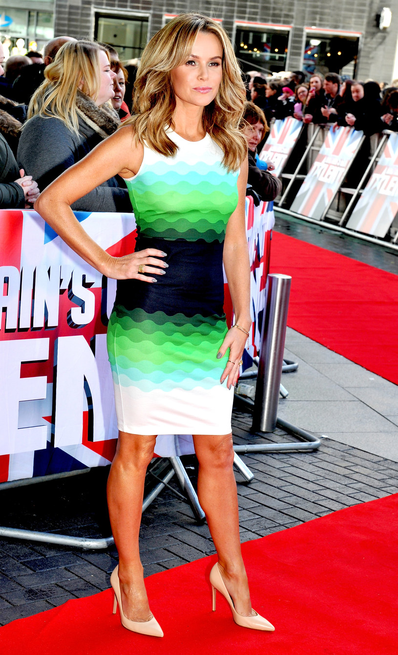 Amanda Holden /- /Getty Images