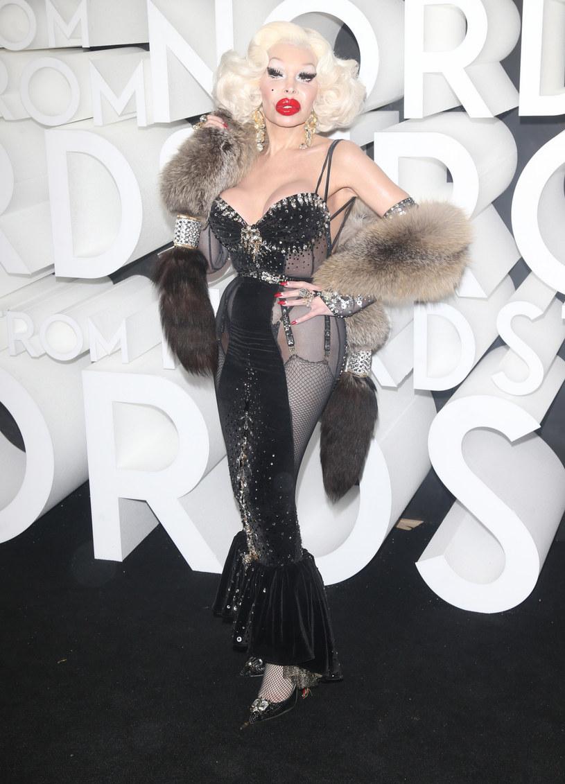Amanda Lepore jest transseksualną ikoną Stanów Zjednoczonych /Splashnews /East News