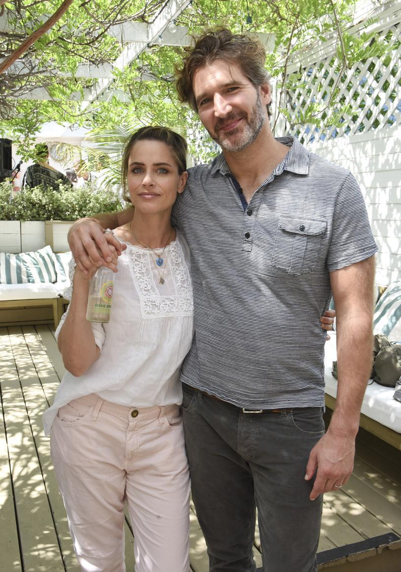 Amanda Peet, David Benioff /Vivien Killilea /Getty Images