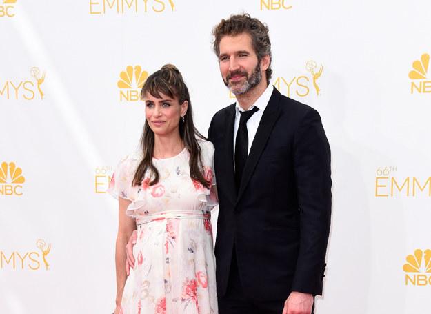 Amanda Peet i David Benioff /Getty Images
