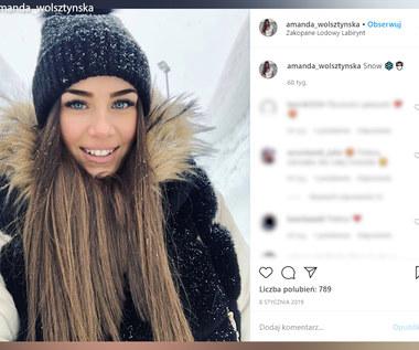 Amanda Wolsztyńska to jedna z najpiękniejszych WAGs. Jest żoną piłkarza Widzewa.