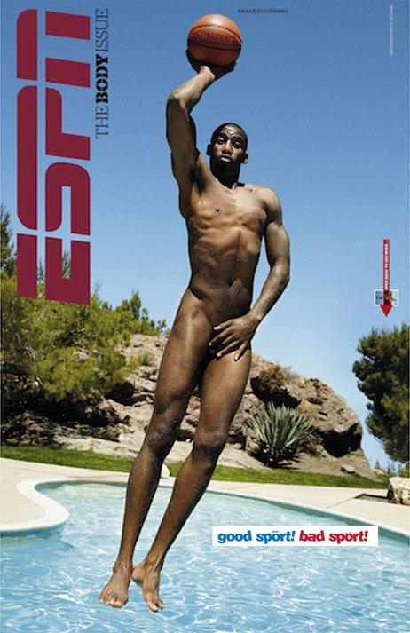 Amare Stoudemire na okładce magazynu ESPN /INTERIA.PL