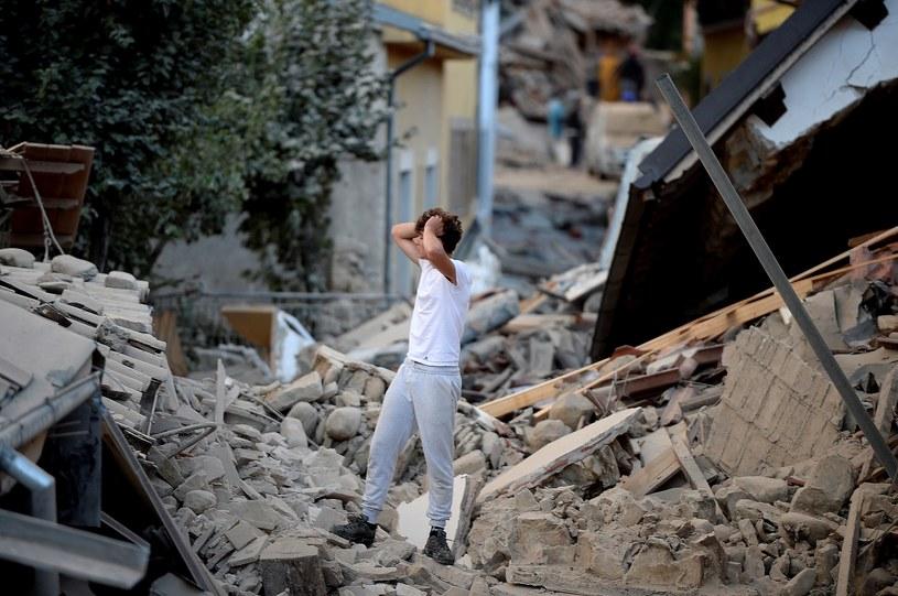 Amatrice po trzęsieniu ziemi we Włoszech /FILIPPO MONTEFORTE / AFP /AFP