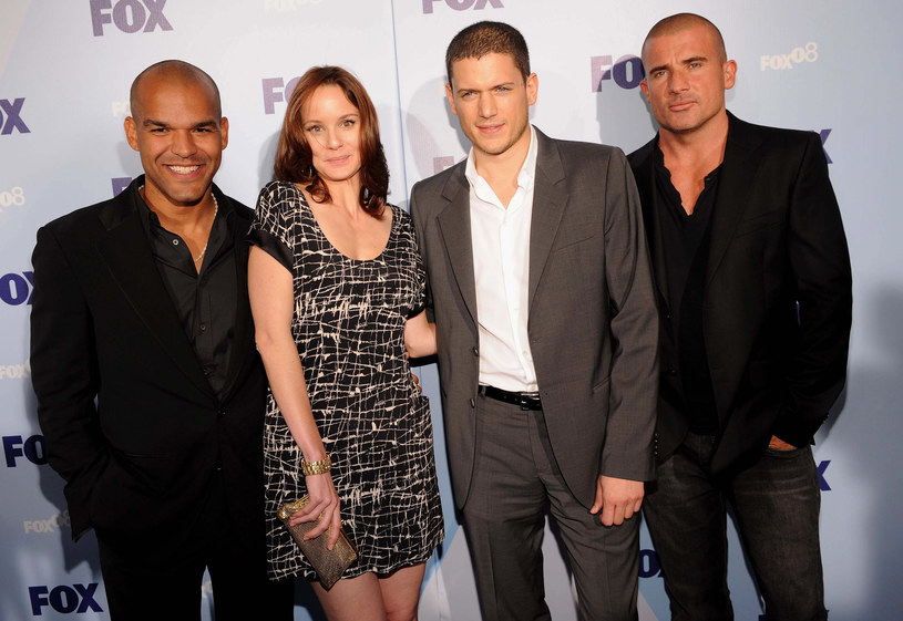 Amaury Nolasco, Sarah Wayne Callies, Wentworth Miller i Dominic Purcel /Brad Barket /Getty Images