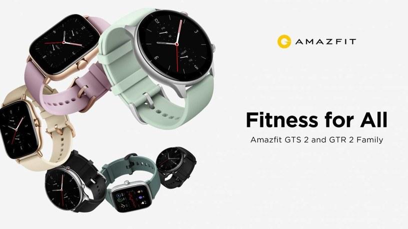Amazfit zaprezentował swoje nowe, inteligentne zegarki /materiały prasowe