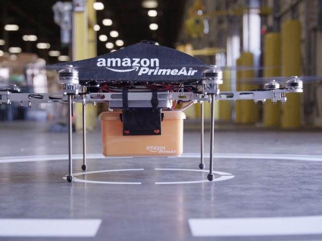 Amazon chce dostarczać przesyłki przy pomocy dronów. /materiały prasowe