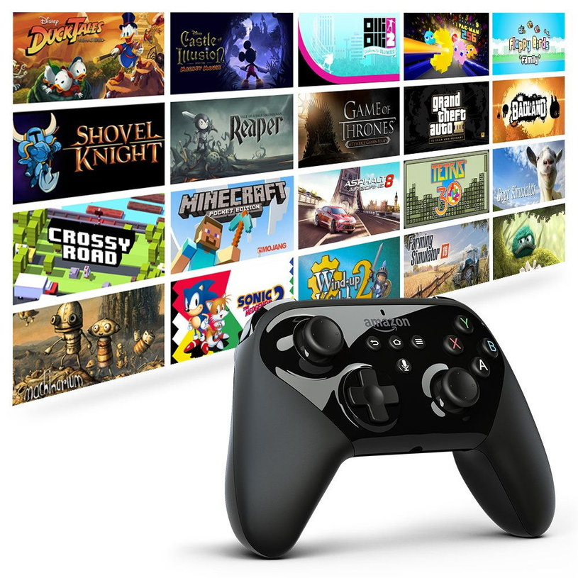 Amazon Fire TV gamepad /materiały prasowe
