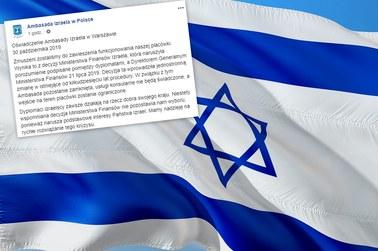 Ambasada Izraela w Warszawie zawiesza działalność. Powodem strajk