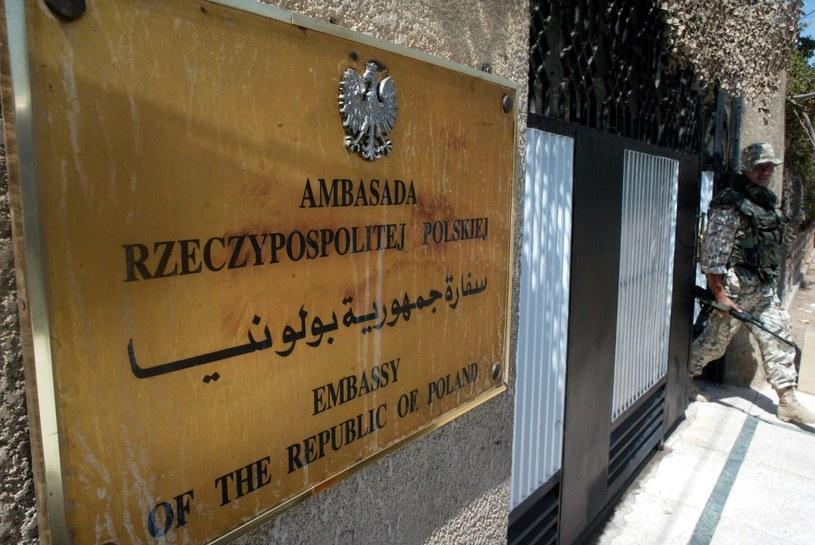 Ambasada polska w Bagdadzie / Grzegorz Jakubowski    /Agencja FORUM