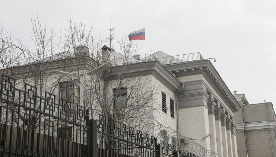 Ambasada Rosji w Kijowie /SERGEY DOLZHENKO /PAP/EPA