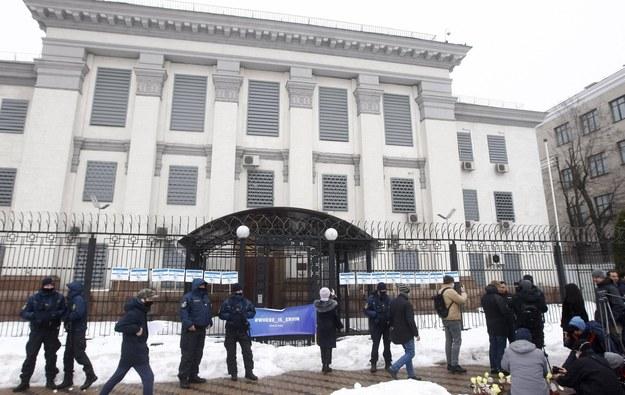 Ambasada Rosji w Kijowie /AA/ABACA /PAP/EPA