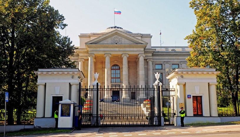 Ambasada Rosji w Warszawie /Jan Bielecki /East News