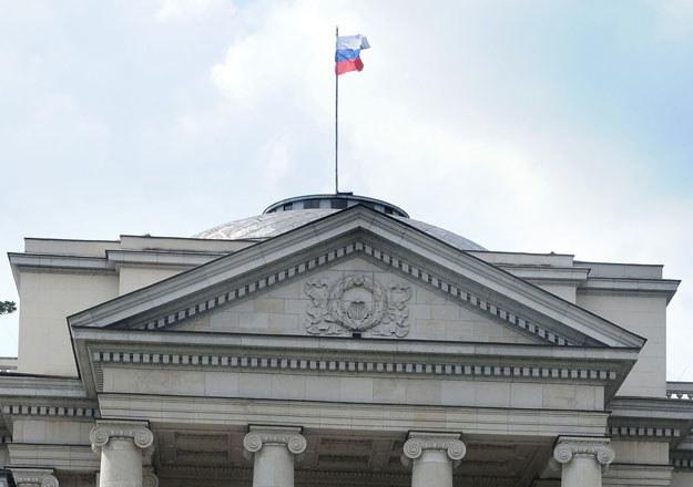 Ambasada Rosji w Warszawie /Lech Gawuc /Reporter
