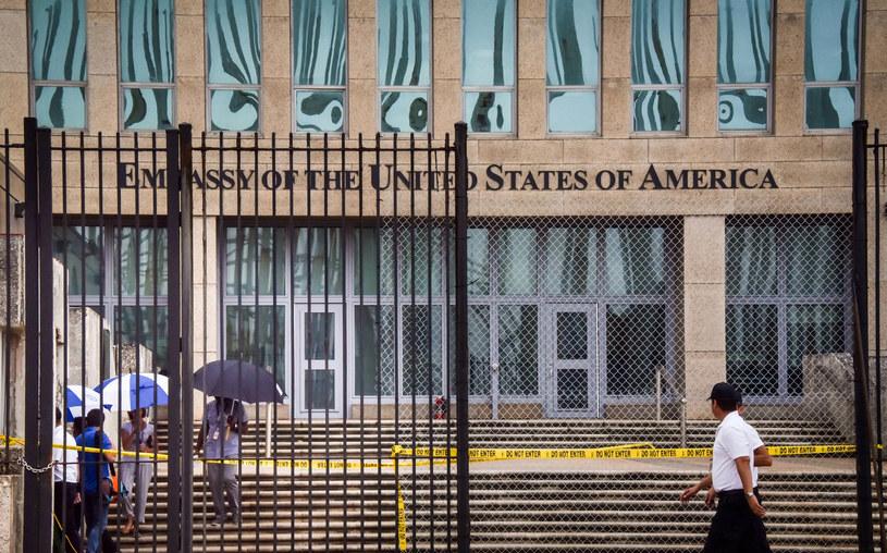 Ambasada USA w Hawanie /ADALBERTO ROQUE /AFP