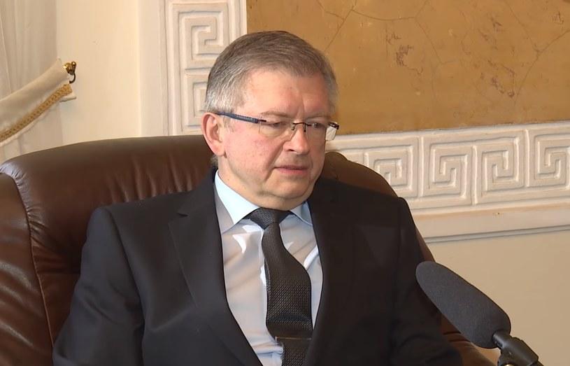 Ambasador Federacji Rosyjskiej w Warszawie Siergiej Andriejew /Michał Dukaczewski /RMF