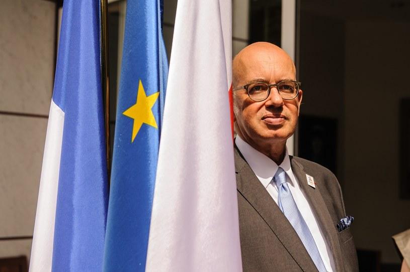 Ambasador Francji Pierre Lévy /Tomasz Urbanek /East News