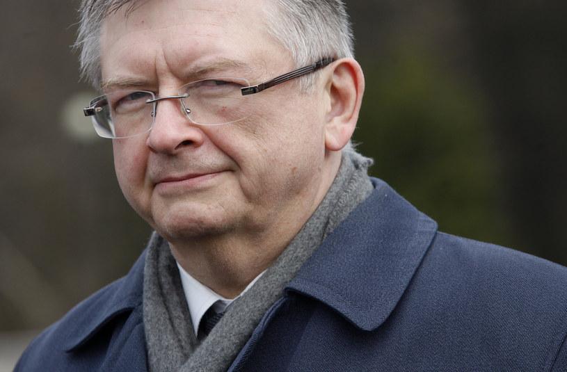 Ambasador Rosji w Polsce Siergiej Adriejew /Stefan Maszewski /Reporter