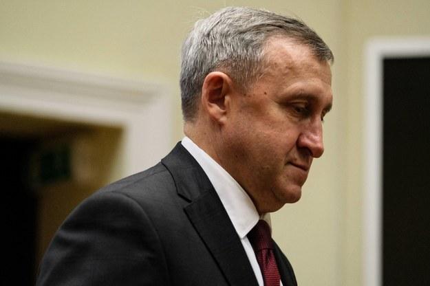 Ambasador Ukrainy w Polsce Andrij Deszczyca /Mateusz Marek /PAP