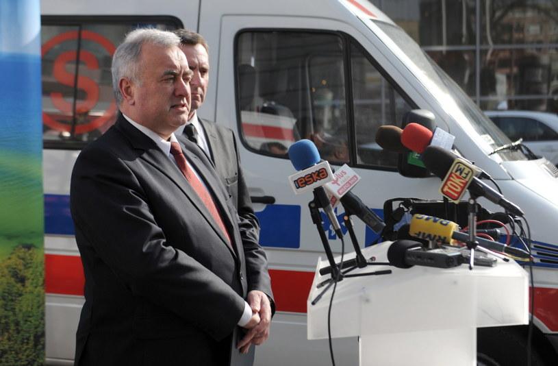 Ambasador Ukrainy w RP Markijan Malski. /Marcin Bielecki /PAP