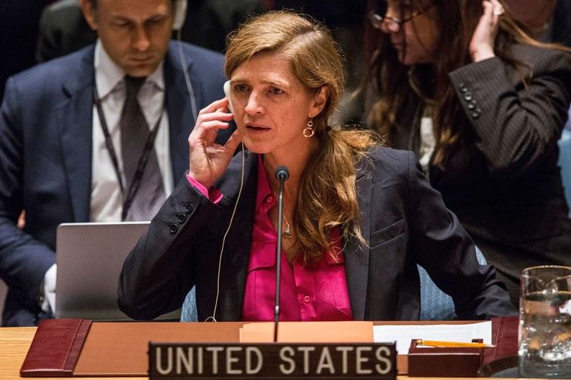 Ambasador USA przy ONZ Samantha Power /AFP