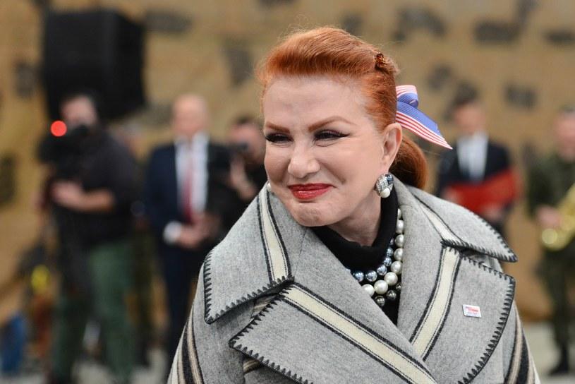 Ambasador USA w Polsce Georgette Mosbacher /Adam Staśkiewicz /East News