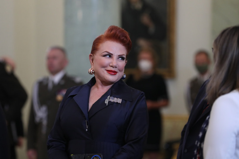 Ambasador USA w Polsce Georgette Mosbacher /fot. Andrzej Iwanczuk /Reporter