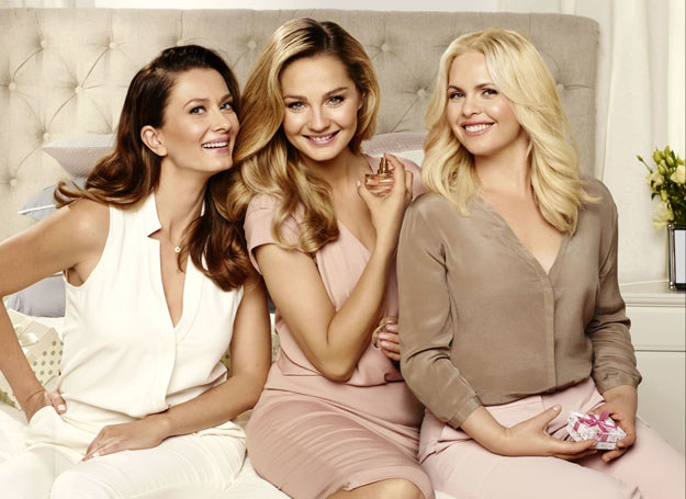 """Ambasadorkami zostały trzy niezwykłe aktorki, serialowe """"Przyjaciółki"""" /materiały prasowe"""