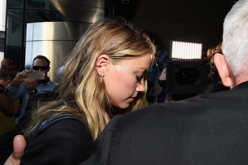 Amber Heard bardzo przeżyła rozwód z Johnnym /Getty Images