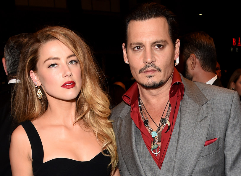 Amber Heard i Johnny Depp jeszcze razem /Getty Images