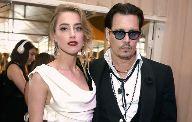 Amber Heard i Johnny Depp ponoć pobrali się w tajemnicy /Jason Kempin /Getty Images