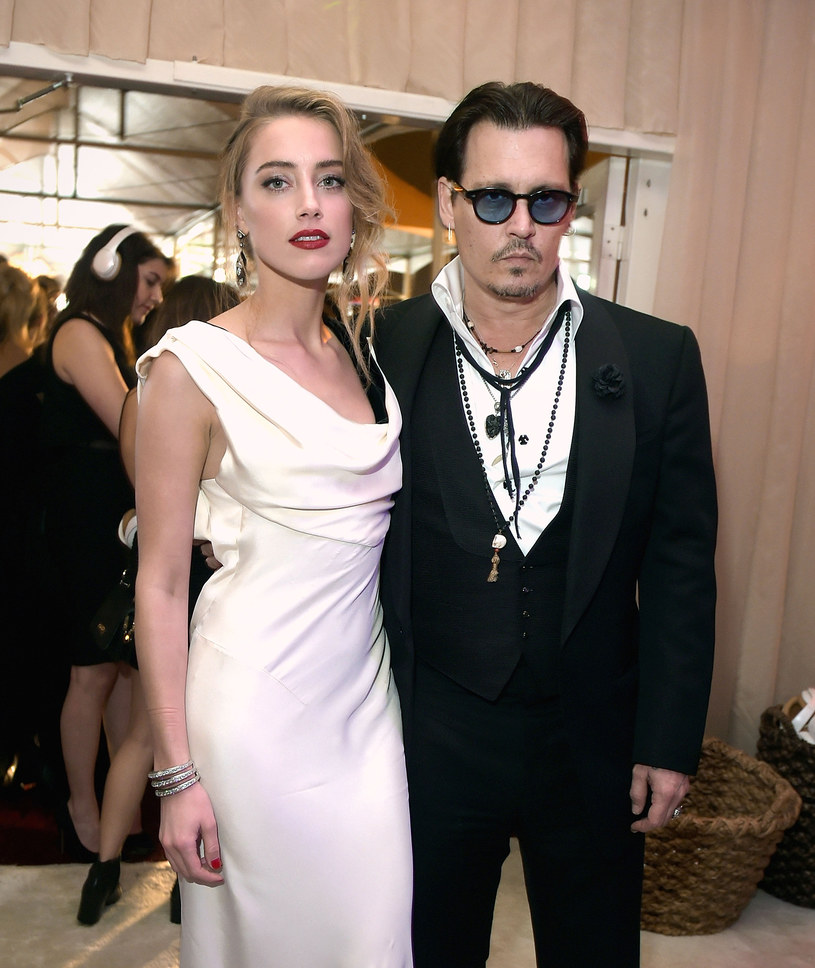 Amber Heard i Johnny Depp poznali się w 2011 roku /Jason Kempin /Getty Images