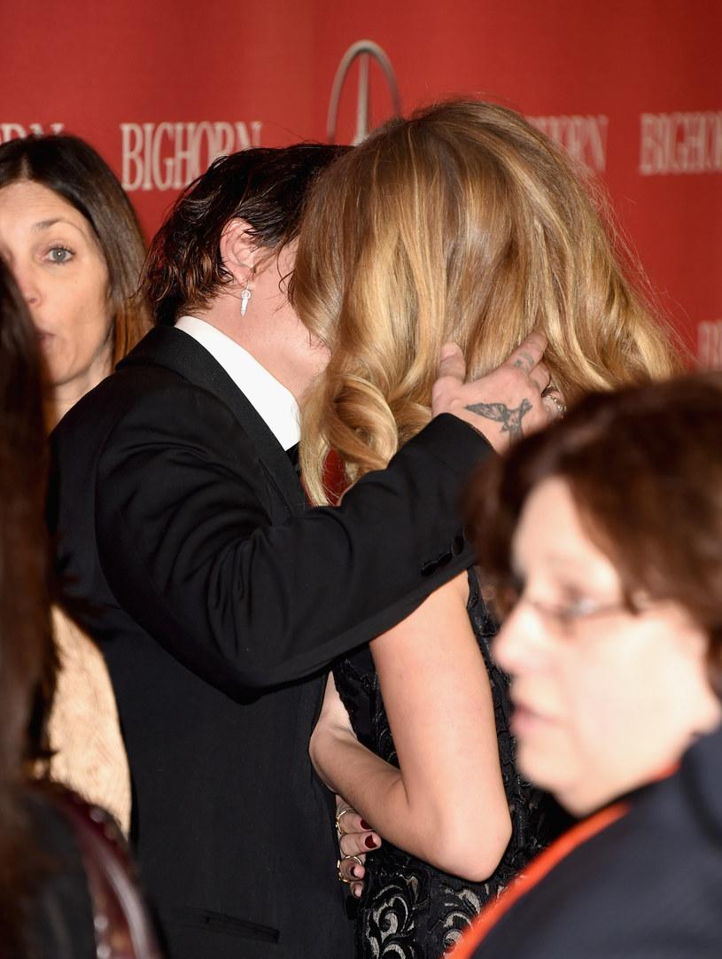 Amber Heard i Johnny Depp są w trakcie rozwodu /Jason Merritt /Getty Images