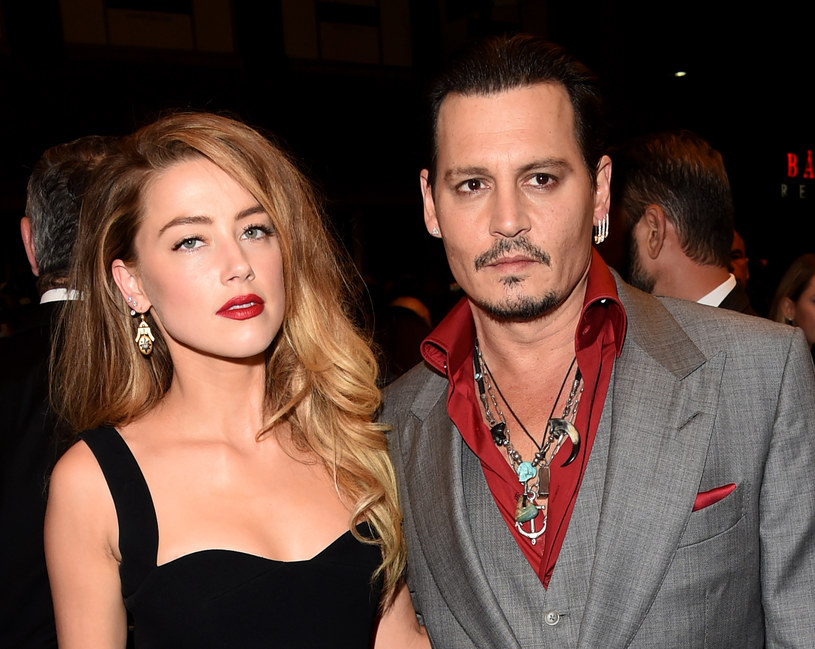 Amber Heard i Johnny Depp w 2015 roku / Jason Merritt /Getty Images