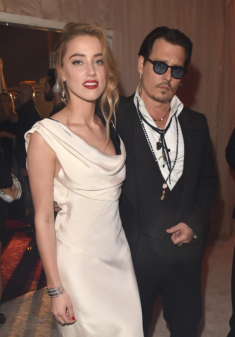 Amber Heard i Johnny Depp /Jason Merritt /Getty Images