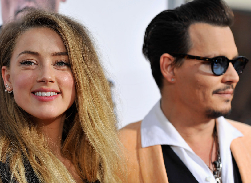 Amber Heard i Johnny Depp /Getty Images
