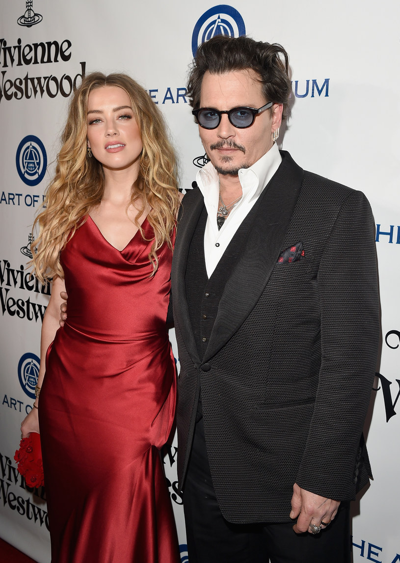 Amber Heard i Johnny Depp /Jason Merritt /Getty Images