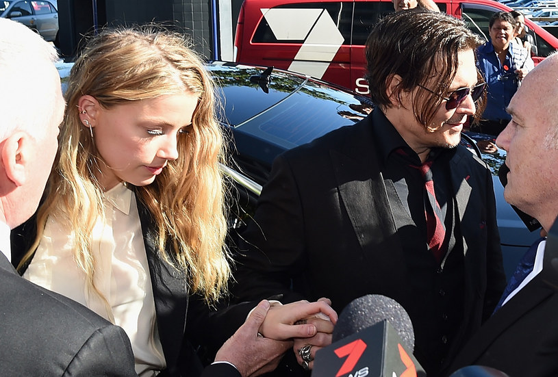 Amber Heard i Johnny Depp /Matt Roberts /Getty Images