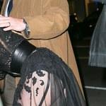 Amber Heard w prześwitującej spódnicy na imprezie!