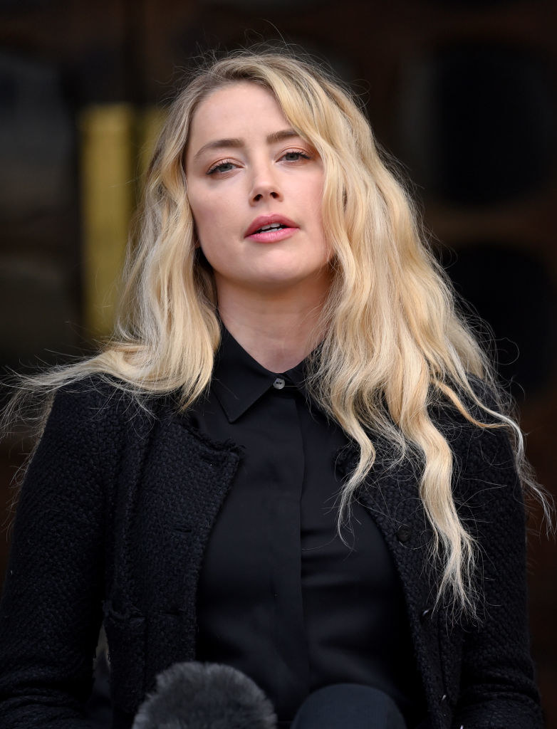 Amber Heard /Karwai Tang/WireImage /Getty Images