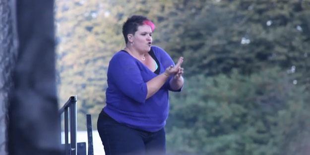 Amber nieoczekiwanie stała się gwiazdą festiwalu /